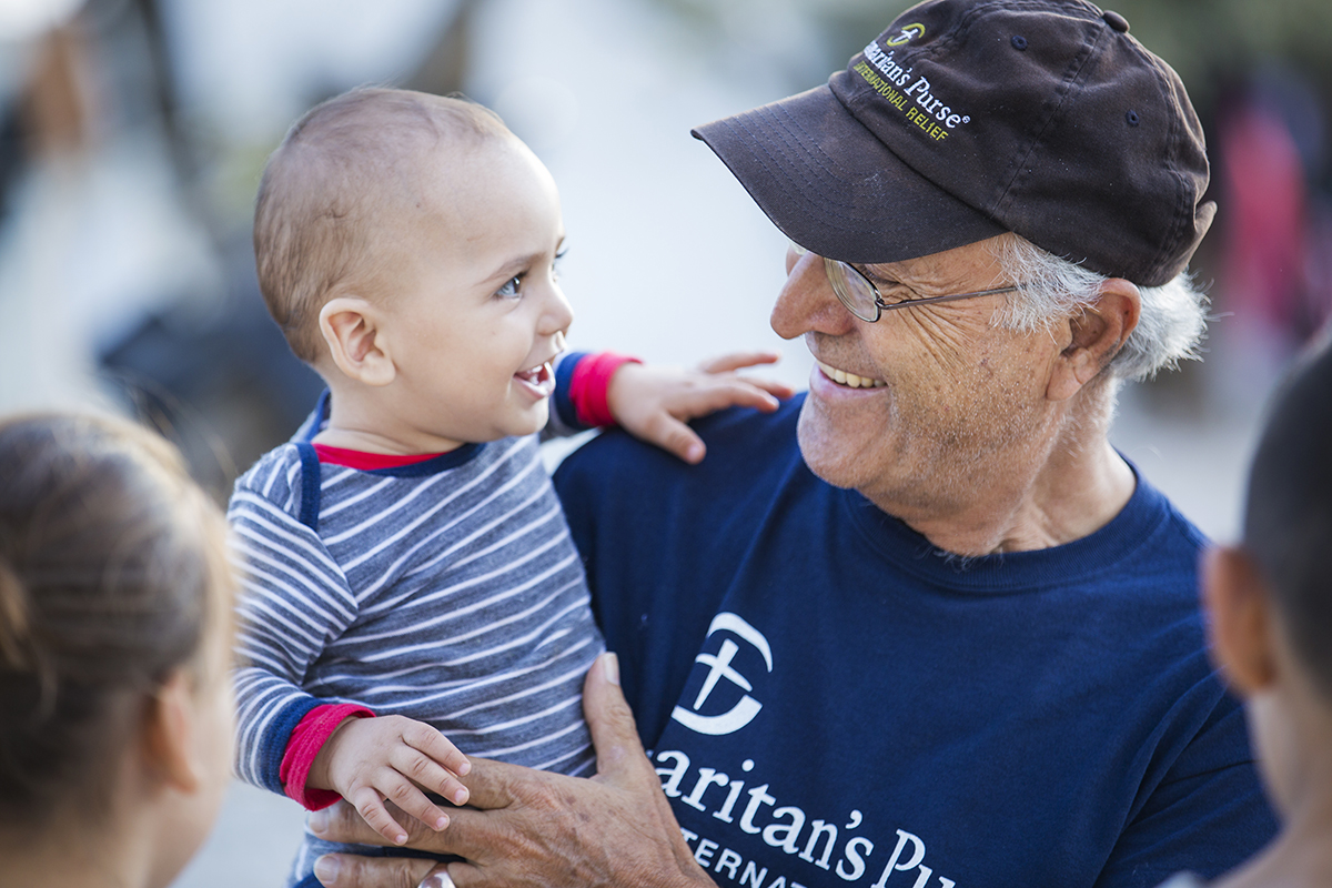 Our staff and volunteers are extending the love of Jesus Christ to refugees young and old.