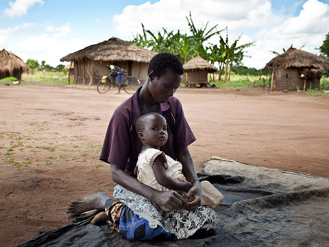 Family in Liberia